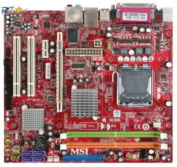 Материнская плата MSI MS-7267 Ver: 4.2 945GCM5 V2 материнка LGA775 S775 DDR2 PCI. Киев. фото 1