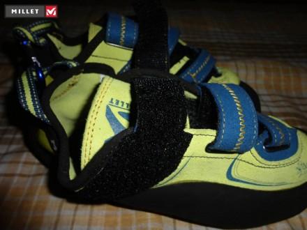 Новые скальные туфли Millet Myo Sulfure  Назначение: техническое скалолазание, . Ровно, Ровненская область. фото 4