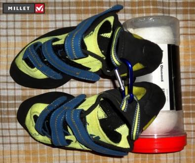Новые скальные туфли Millet Myo Sulfure  Назначение: техническое скалолазание, . Ровно, Ровненская область. фото 3