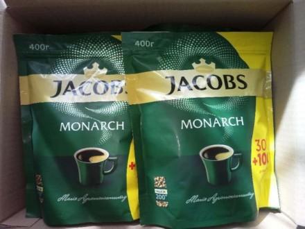 Кофе Якобз Монарх, 400 г, Jacobs - розчинна кава. Киев. фото 1