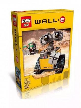 Конструктор Lepin робот WALL-E 16003. Киев. фото 1