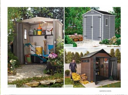 Садовые домики и шкафы для инструмента Allibert, Keter Голландия. Мукачево. фото 1