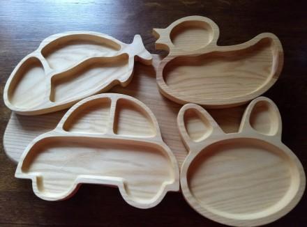 Красивая,оригинальная и безопасная посуда для детей из дерева. Вся детская посу. Харьков, Харьковская область. фото 5