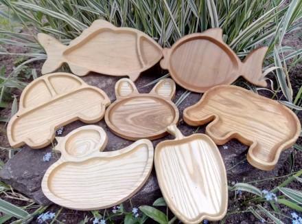 Красивая,оригинальная и безопасная посуда для детей из дерева. Вся детская посу. Харьков, Харьковская область. фото 12