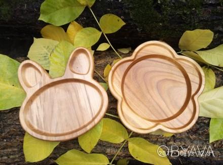 Красивая,оригинальная и безопасная посуда для детей из дерева. Вся детская посу. Харьков, Харьковская область. фото 1