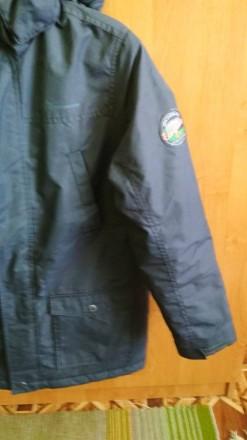 Куртка Парка для мальчика в идеальном состоянии. Носилась аккуратно. Размер -146. Долинская, Кировоградская область. фото 7