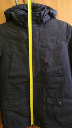 Куртка Парка для мальчика в идеальном состоянии. Носилась аккуратно. Размер -146. Долинская, Кировоградская область. фото 13