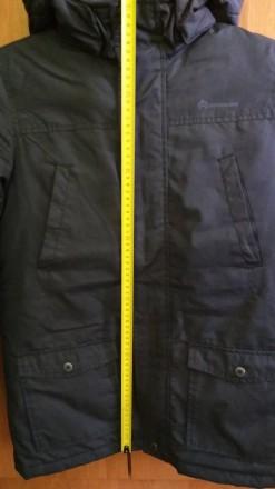 Куртка Парка для мальчика в идеальном состоянии. Носилась аккуратно. Размер -146. Долинская, Кировоградская область. фото 5
