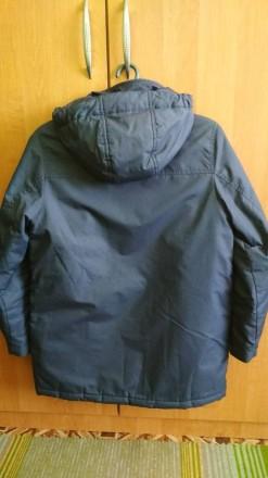 Куртка Парка для мальчика в идеальном состоянии. Носилась аккуратно. Размер -146. Долинская, Кировоградская область. фото 3