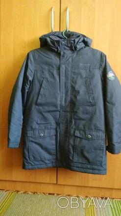 Куртка Парка для мальчика в идеальном состоянии. Носилась аккуратно. Размер -146. Долинская, Кировоградская область. фото 1