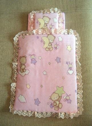Деревянная кроватка для куклы - хороший подарок девочкам от 2 лет.Размер спально. Днепр, Днепропетровская область. фото 6