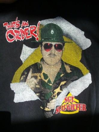 Фуфайка (sweatshirt) c милитари-принтом