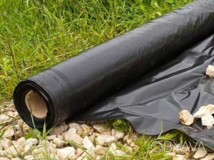Пленка полипропиленовая черная, б/у.  Пленка разово использовалась для транспор. Николаев, Николаевская область. фото 1