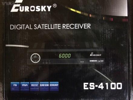 Основные технические характеристики Eurosky ES-4100:  - 4000 программируемых к. Николаев, Николаевская область. фото 1