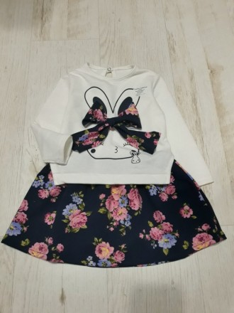 Теплое платье для девочек. Золотоноша. фото 1