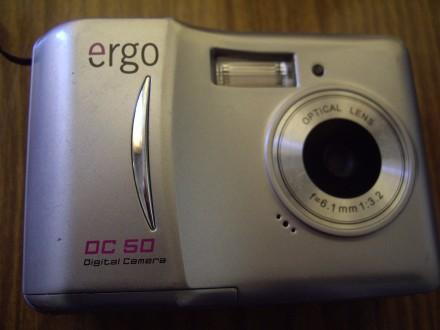 фотоаппарат цифровой ERGO DC 50. Полтава. фото 1