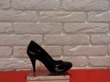 Бразильські туфлі в класичному стилі, з м'якої, лакової, натуральної шкіри.  Гн. Киев, Киевская область. фото 8