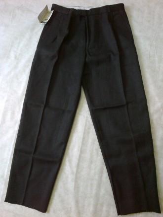 ЦЕНУ СНИЖЕНО:Брюки шерстяные с вискозной нитью, размер 50. Днепр. фото 1