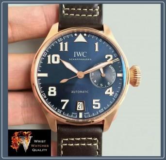 "IWC Schaffhausen - BIG Pilot's ""Le Petit Prince"" Blue Dial Automatic Stainless S. Киев, Киевская область. фото 10"