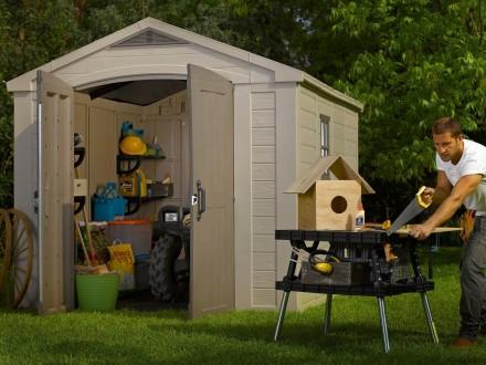 Садовой домик, сарай, гараж Keter FACTOR. Мукачево. фото 1