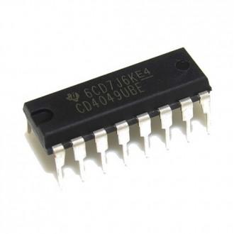 Логика, микросхема CD4049 (CD4049UBE). Кропивницкий. фото 1