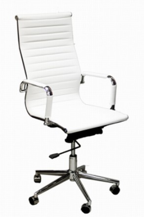 Директорское офисное кресло на хромированной основе делает кресло прочным. Мягка. Киев, Киевская область. фото 5