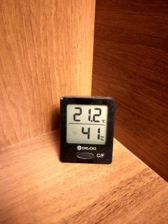 Метеостанция - цифровой термометр гигрометр Digoo TH1130. Херсон. фото 1