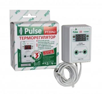 Терморегулятор PT20-N2 2кВт. Дергачи. фото 1