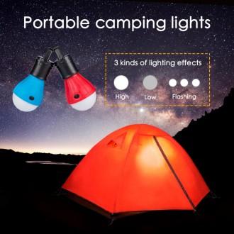 Фонарь для кемпинга, лампа в палатку, автомобиль, LED, отдыха, туризма. Херсон. фото 1