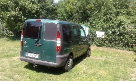 Автомобіль Фіат Добло 2003  р/вип; 1.9 дизель; пробіг 280 т км;  1700 Євро з заї. Бровары, Киевская область. фото 3
