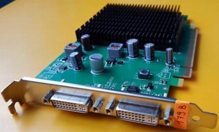 Nvidia GeForce 9300GE (Leadtek)/PCi-E/512МB GDDR2/2xDVI. Киев. фото 1