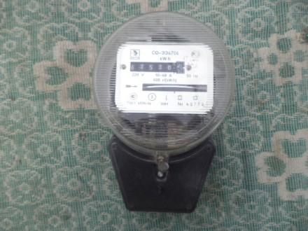Счетчик электроэнергии СО-ЭЭ6706. Днепр. фото 1