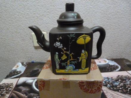 Чайник Исинская глина. Киев. фото 1