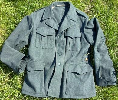 Швейцарская военная куртка-китель, оригинал. Одесса. фото 1