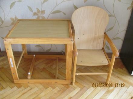 Детский столик и стульчик. Киев. фото 1
