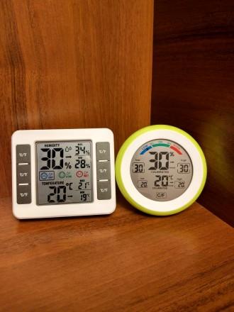 Метеостанции - цифровой термометр гигрометр CJ-3305F и CJ3316D. Херсон. фото 1
