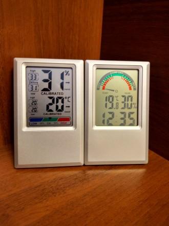 Метеостанции - цифровой термометр гигрометр часы CJ3308T и CJ3308D. Херсон. фото 1
