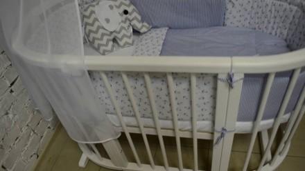 Детская кроватка растет с вашим малышом. Универсальная кроватка 8 в 1,  предназн. Ровно, Ровненская область. фото 3