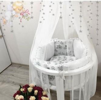 Детская кроватка растет с вашим малышом. Универсальная кроватка 8 в 1,  предназн. Ровно, Ровненская область. фото 6