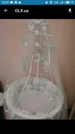 Детская кроватка растет с вашим малышом. Универсальная кроватка 8 в 1,  предназн. Ровно, Ровненская область. фото 4