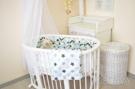 Детская кроватка растет с вашим малышом. Универсальная кроватка 8 в 1,  предназн. Ровно, Ровненская область. фото 1