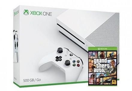 Аренда игровой приставки Xbox One S (УЖЕ С ИГРАМИ) + ONLINE. Киев. фото 1
