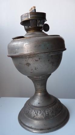 Лампа гасова старинна. Запорожье. фото 1