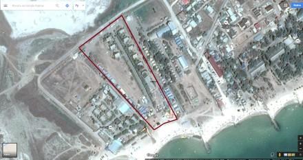 Продам участок - базу отдыха на Берегу Азовского моря. Приазовское. фото 1