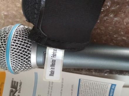 Микрофон Shure beta58a (Mexico). Запорожье. фото 1
