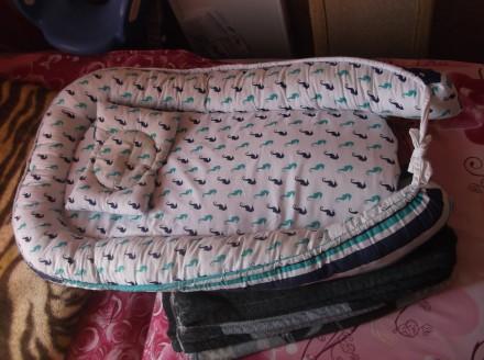 Продам детский кокон в кроватку. Кривой Рог. фото 1