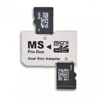 Переходник Адаптер 5400 для 2х microSD в MS Pro PhotoFast PSP Sony. Киев. фото 1