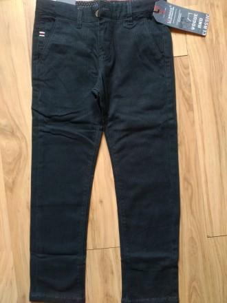 Качественные Стрейч Котоновые брюки на мальчика 6-12 лет 116-152 рост. Маріуполь. фото 1