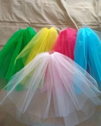 Фата цветная, для подружек невесты. Киев. фото 1