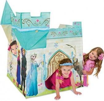 Детская палатка Frozen замок. Одесса. фото 1